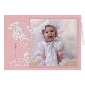 Cartões de agradecimentos religiosos Enchanted da