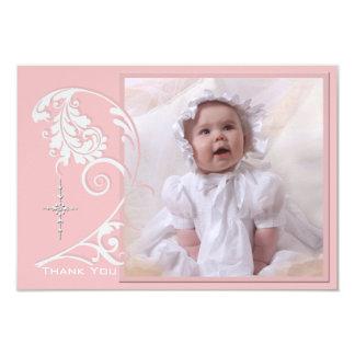Cartões de agradecimentos religiosos Enchanted da Convite 8.89 X 12.7cm