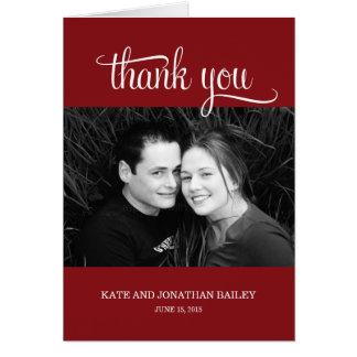 Cartões de agradecimentos simplesmente gratos