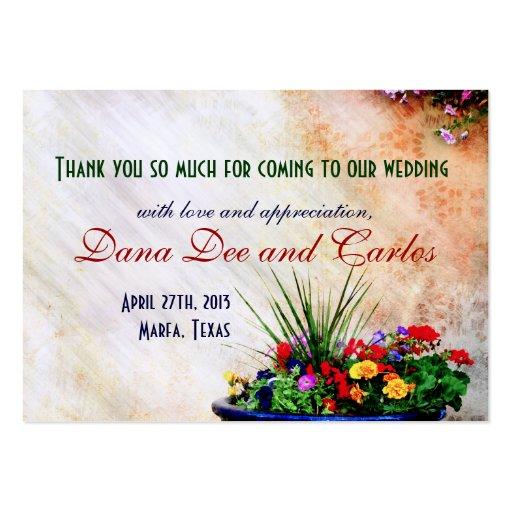 cartões de agradecimentos Sudoeste-inspirados do s Cartoes De Visita