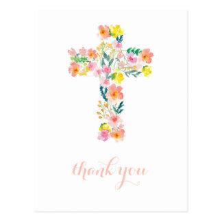Cartões de agradecimentos transversais, obrigado
