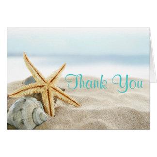 Cartões de agradecimentos tropicais do doce 16 de