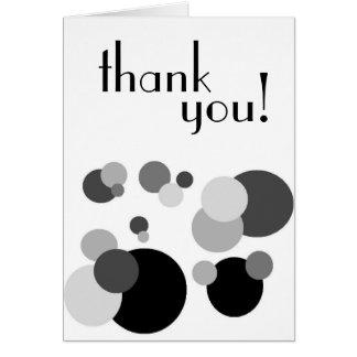 Cartões de agradecimentos - vazio para dentro
