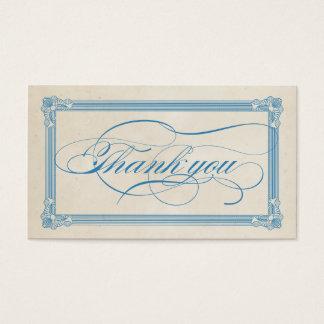 Cartões de agradecimentos vermelhos, brancos &