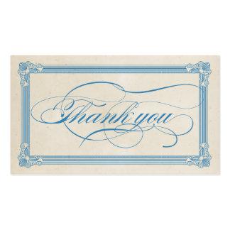 Cartões de agradecimentos vermelhos brancos azu modelo cartoes de visita