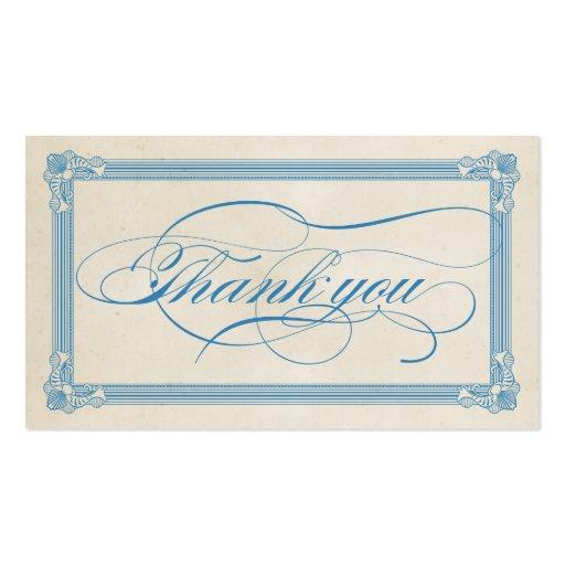 Cartões de agradecimentos vermelhos, brancos & azu modelo cartoes de visita