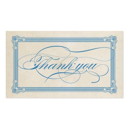 Cartões de agradecimentos vermelhos, brancos & azu modelo cartões de visita