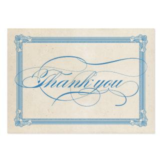 Cartões de agradecimentos vermelhos, brancos & cartoes de visita