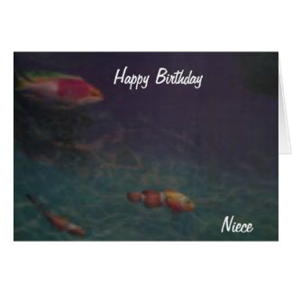 Cartões de aniversário da sobrinha