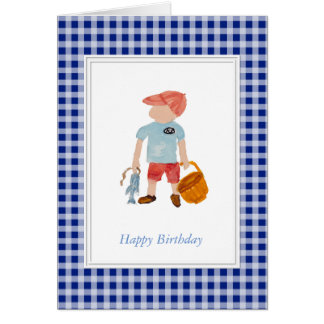 Cartões de aniversário dos meninos
