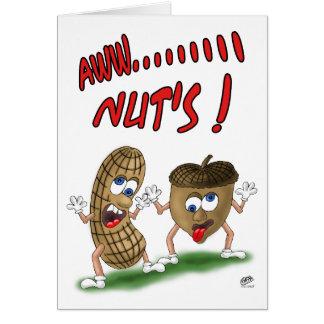 Cartões de aniversário engraçados: Loucos do Aw