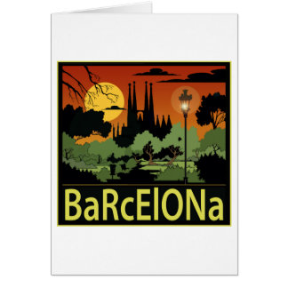 Cartões de Barcelona