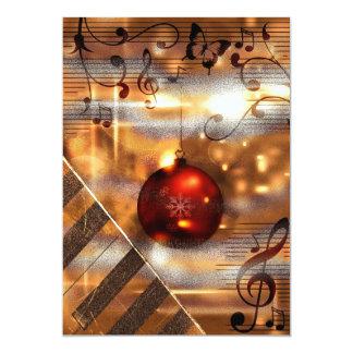 cartões de cartões de natal do professor de piano