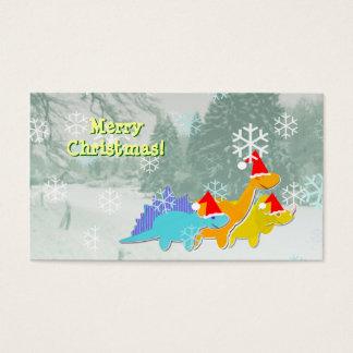 Cartões de cartões de natal pequenos dos
