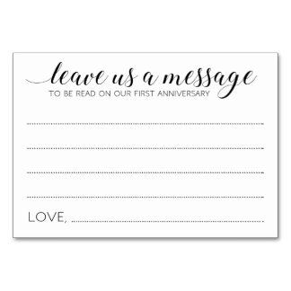 Cartões de casamento da caixa da memória -