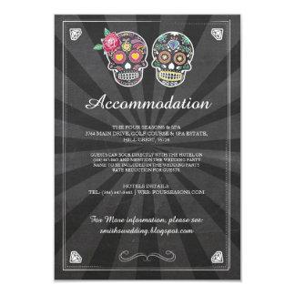 Cartões de casamento rústicos da acomodação dos