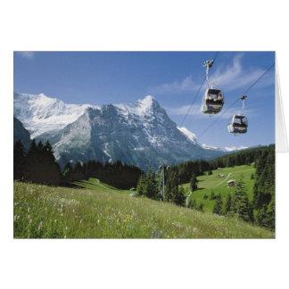 Cartões de cumprimentos suíços, Grindelwald,