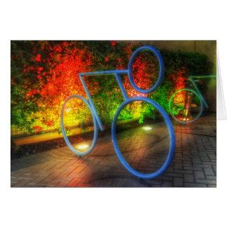 Cartões de de Em nenhuma parte Bicicleta da