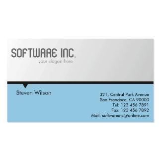 Cartões de empresa cartão de visita