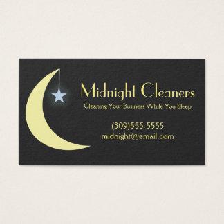 Cartões de empresa de serviços da limpeza