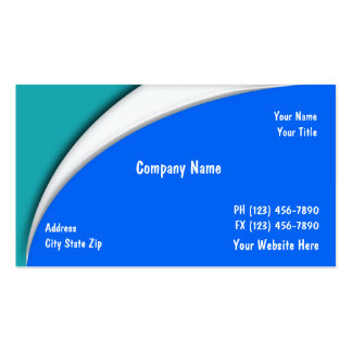 Cartões de empresa de serviços da piscina modelo cartoes de visita