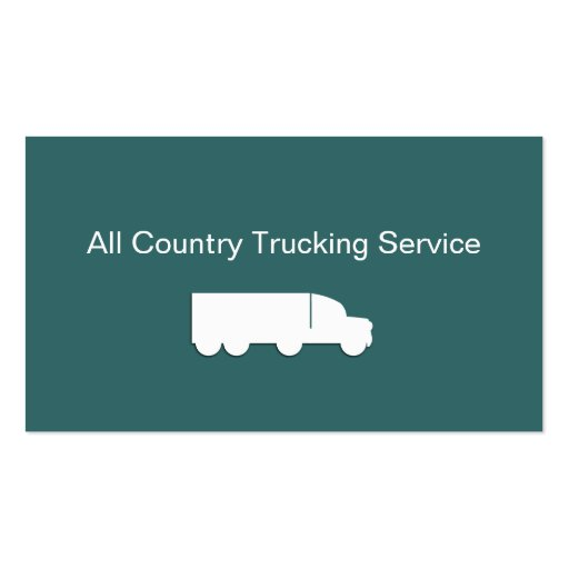 Cartões de empresa de serviços de transporte por cartoes de visita
