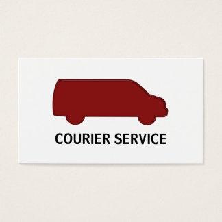 Cartões de empresa de serviços do correio