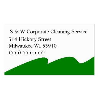 Cartões de empresa de serviços incorporados da lim cartão de visita
