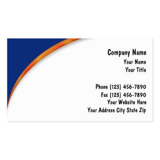 Cartões de empresa seguradora cartao de visita