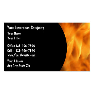Cartões de empresa seguradora modelo cartões de visitas