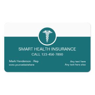 Cartões de empresa seguradora da saúde cartão de visita