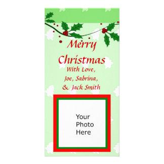Cartões de foto de Natal Cartões Com Fotos