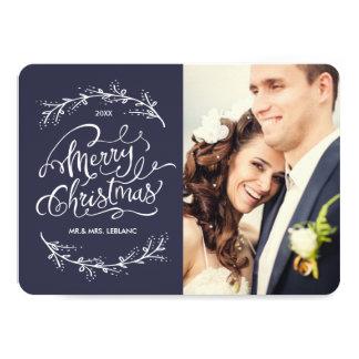 Cartões de foto de Natal de Merried