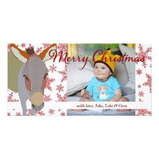 Cartões de foto de Natal de Moses II Cartões Com Foto Personalizados