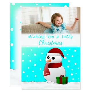Cartões de foto de Natal feitos sob encomenda