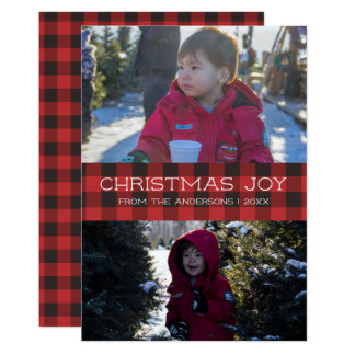Cartões de foto de Natal - notícias da xadrez