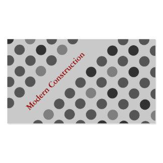 Cartões de indústria da construção cartoes de visitas