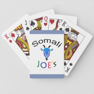 Cartões de jogo azuis da cabra do Billy de Joe Jogo De Carta