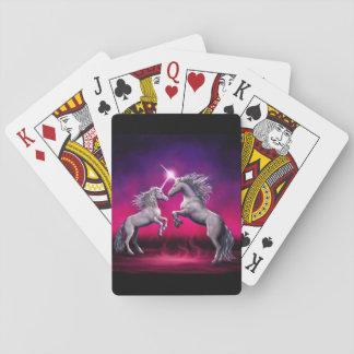 Cartões de jogo baralho