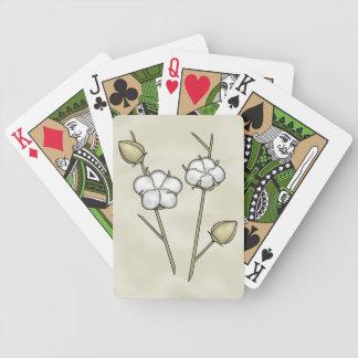 Cartões de jogo bonitos da cápsula do algodão jogos de baralho