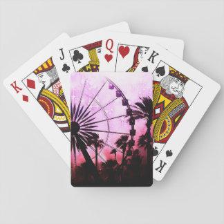 Cartões de jogo clássicos da roda de Ferris Jogo De Carta