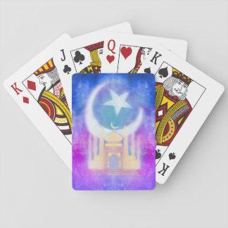 Cartões de jogo clássicos de Ramadan Kareem Jogo De Carta
