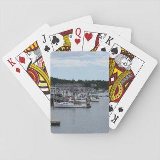 Cartões de jogo clássicos do porto de Boothbay do Jogo De Carta