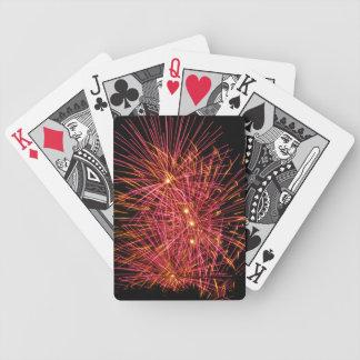 Cartões de jogo cor-de-rosa da bicicleta da baralho para poker