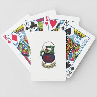 Cartões de jogo da bicicleta baralho para truco
