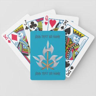 Cartões de jogo da bicicleta jogos de baralhos