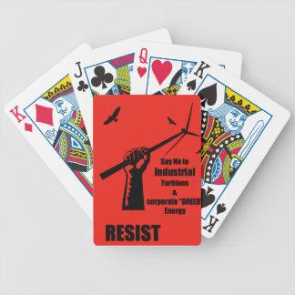 Cartões de jogo da bicicleta nenhum vento baralho para pôquer