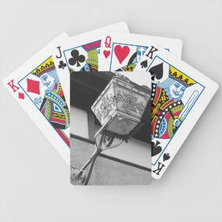 Cartões de jogo da lâmpada baralho de cartas