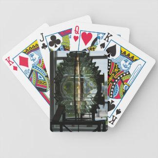 Cartões de jogo da lente de Fresnel Baralhos De Carta