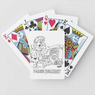Cartões de jogo da marca da bicicleta dos desenhos baralho